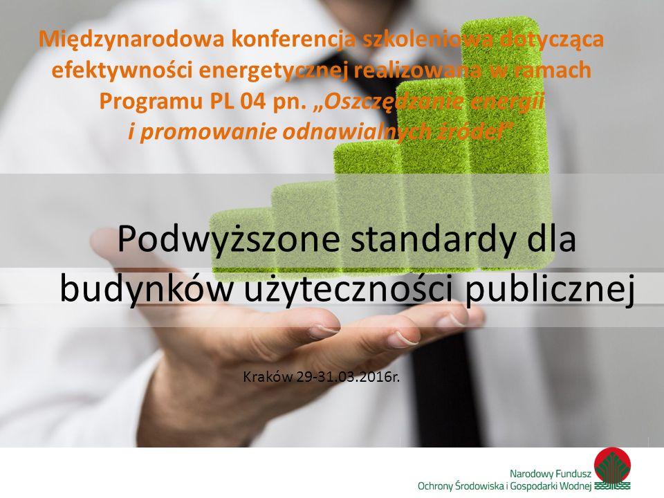 Zainwestujmy razem w środowisko Kraków 29-31.03.2016r.