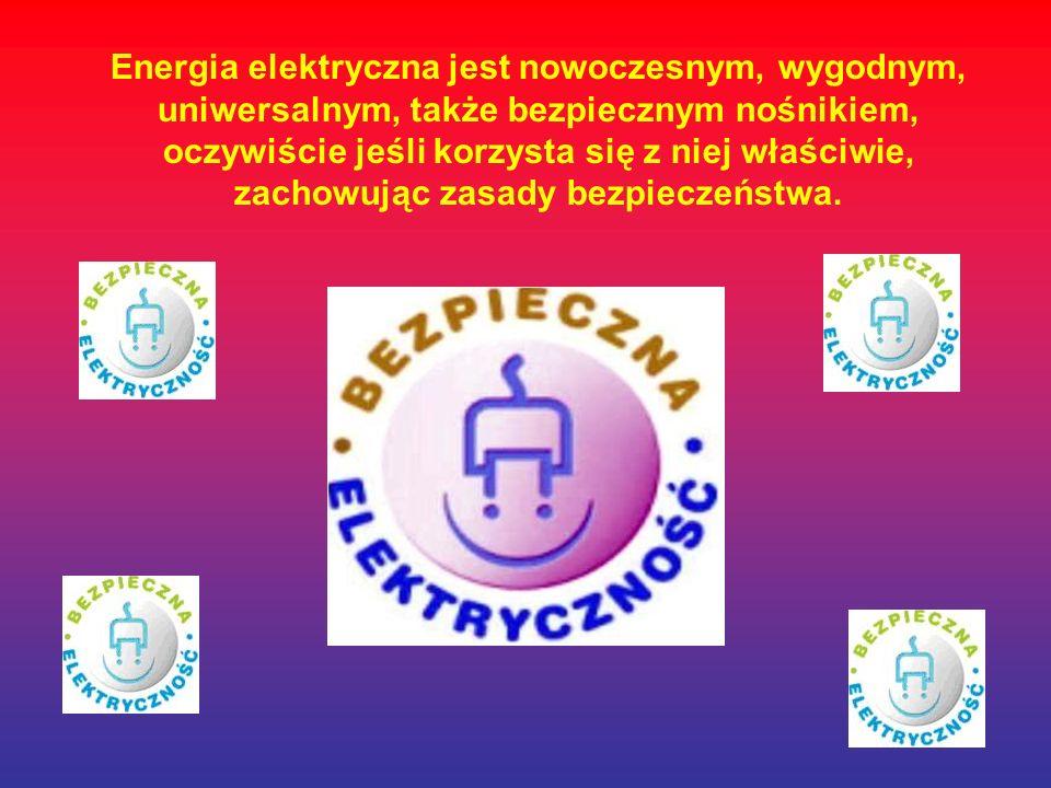 Zagrożenia przy użyciu urządzeń elektrycznych.