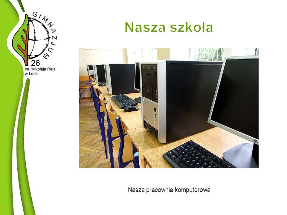 Nasza pracownia komputerowa
