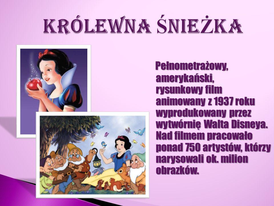 Pełnometrażowy, amerykański, rysunkowy film animowany z 1937 roku wyprodukowany przez wytwórnię Walta Disneya. Nad filmem pracowało ponad 750 artystów