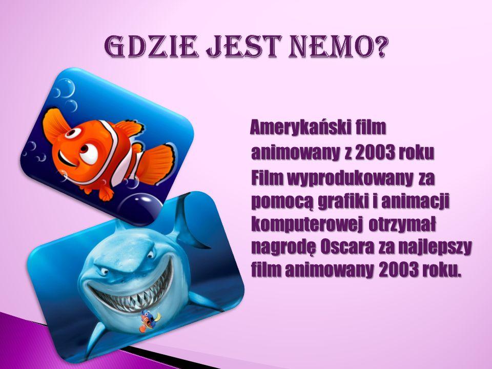 Amerykański film animowany z 2003 roku Film wyprodukowany za pomocą grafiki i animacji komputerowej otrzymał nagrodę Oscara za najlepszy film animowan