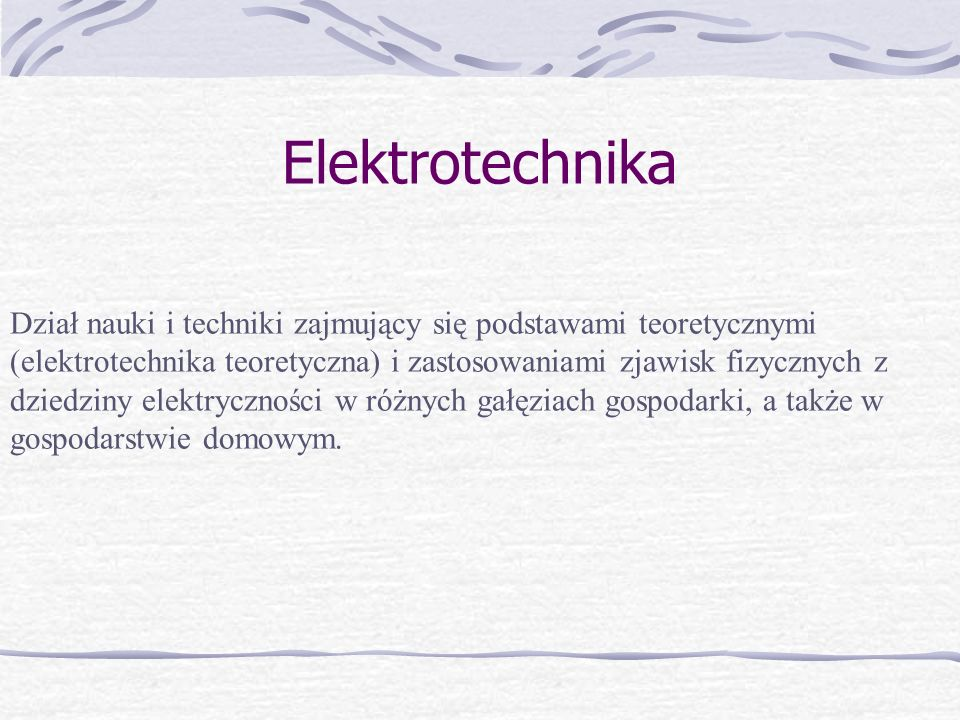 Wynalazcy z dziedziny elektrotechniki
