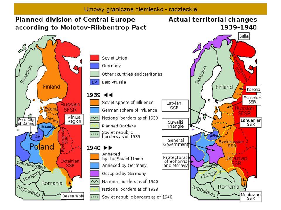 Umowy graniczne niemiecko - radzieckie