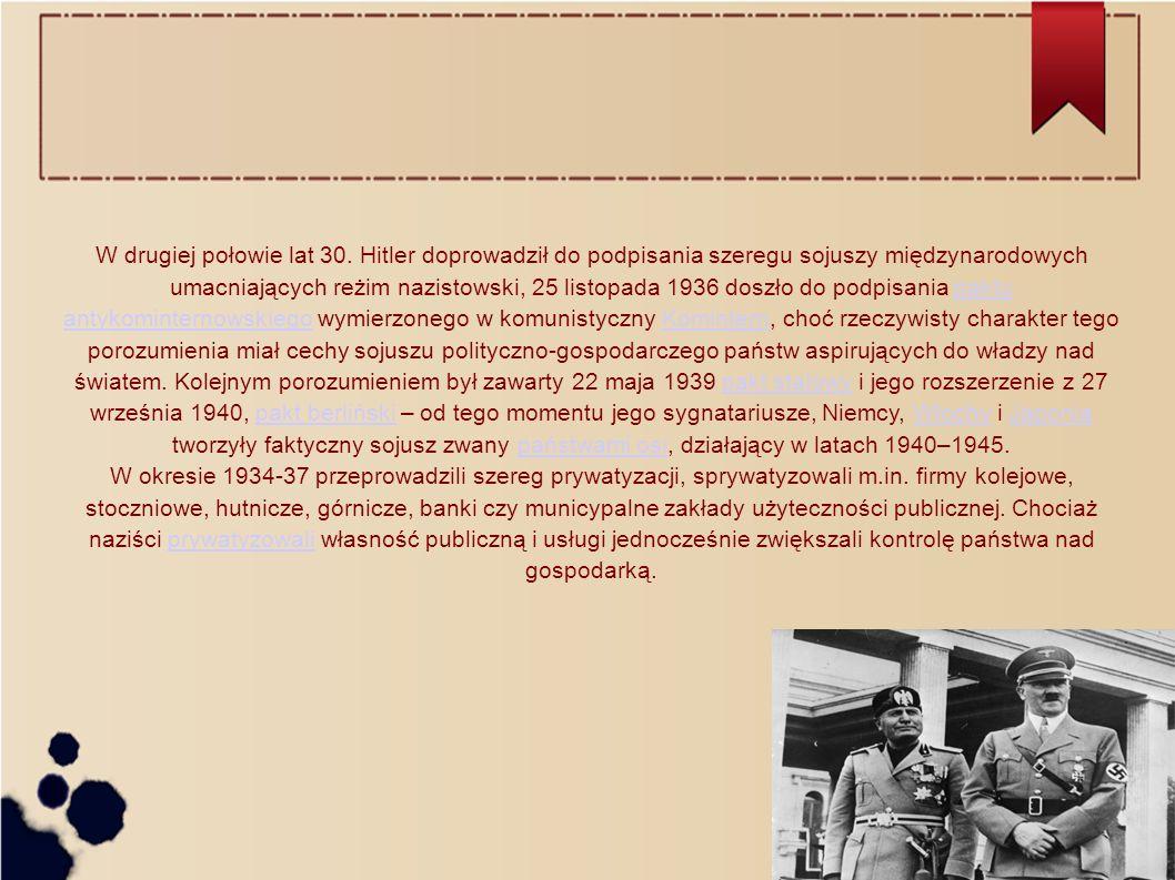 W drugiej połowie lat 30.