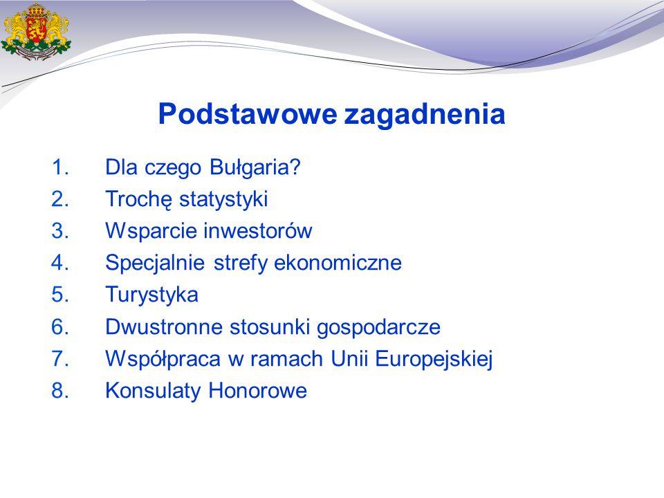Wykształcona i wykwalifikowana siła robocza - jedna z głównych zalet Bułgarii Prawie 60,000 studentów odbiera dyplom z ponad 50 wyższych uczelni źródło: NSI, Bułgaria 12,684 Inne 19,480 Ekonomia 8,372 Nauki społeczne 7,178 Nauki techniczne 3,677 Pedagogika 3,166 Studia medyczne 1,553 Prawo Architektura Rolnictwo Bułgaria jest jednym z krajów o najwyższym odsetku studentów studiujących za granicą 17.8% Islandia 14.2% Irlandia 10.2% Słowakia Bułgaria Grecja Austria Niemcy UE, średnio Rumunia Czechy Studenci w UE jako % ze wszystkich studentów w danym kraju