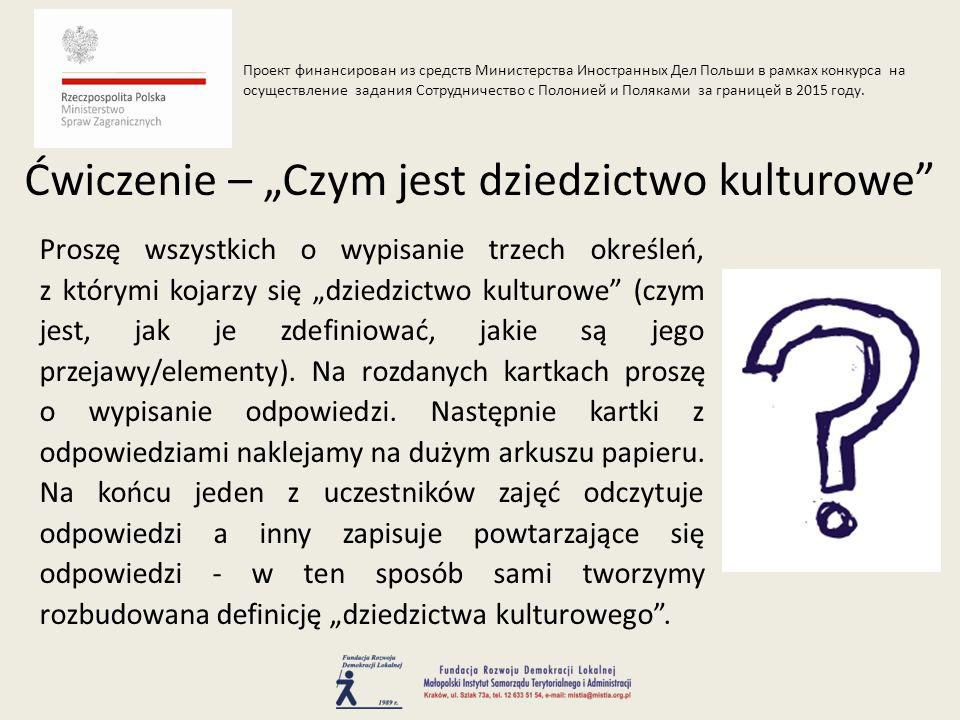 Kanon Miejsc Historycznych to lista 41 obiektów, których poznanie pozwoli na poznanie historii i polskiego dziedzictwa kulturowego (pełnią zasadniczą rolę w kształtowaniu zbiorowej tożsamości).