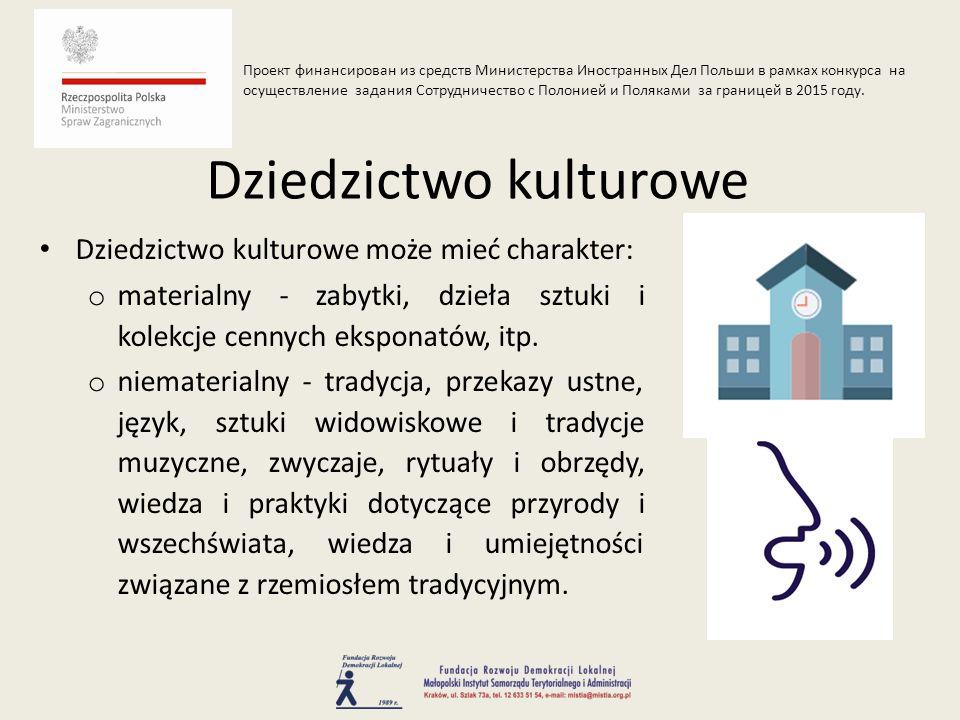 Polska jest jednym z pierwszych państw, które podpisały Konwencję UNESCO o Ochronie Światowego Dziedzictwa.