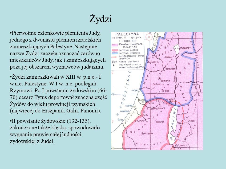 Pierwotnie członkowie plemienia Judy, jednego z dwunastu plemion izraelskich zamieszkujących Palestynę.