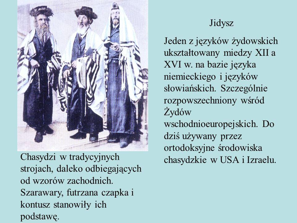 Uczucia Żyda dotyczą spraw czysto materialnych, tym bardziej jego myśli i dążenia...