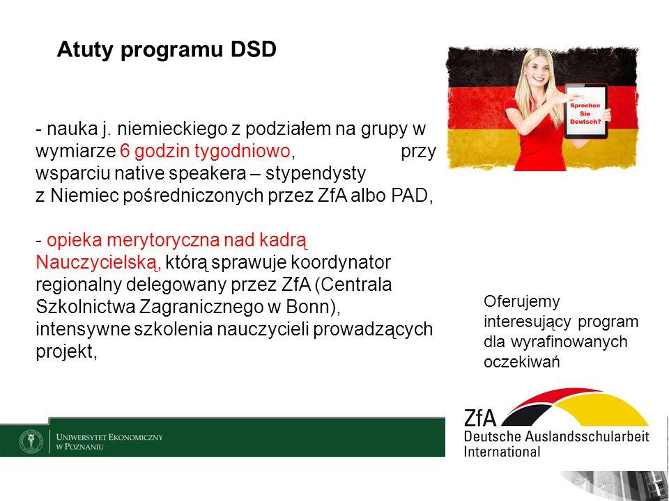 Atuty programu DSD - nauka j.