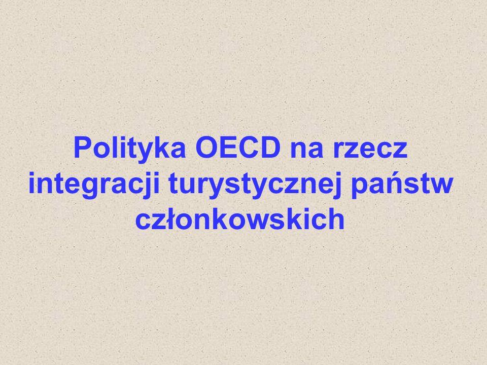 Polityka OECD na rzecz integracji turystycznej państw członkowskich