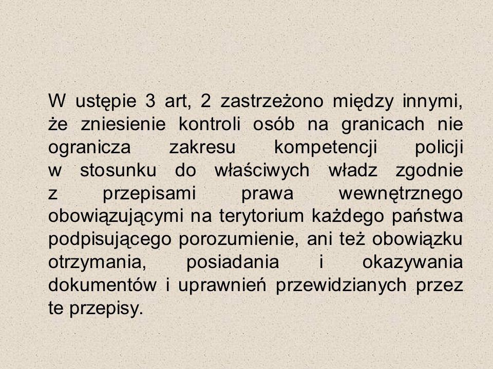 """Rozdział II W rozdziale II """"Przekraczanie granic zewnętrznych zostały określone warunki pobytu nie przekraczającego okresu trzech miesięcy dla obywateli państw nie będących członkami Unii Europejskiej."""
