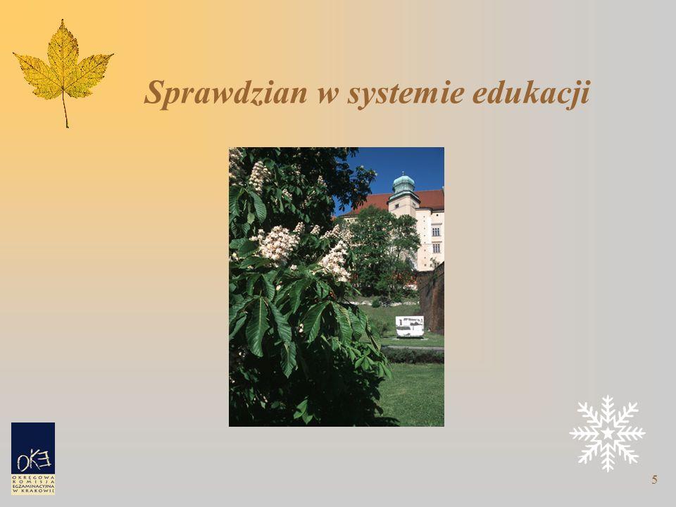 5 Sprawdzian w systemie edukacji