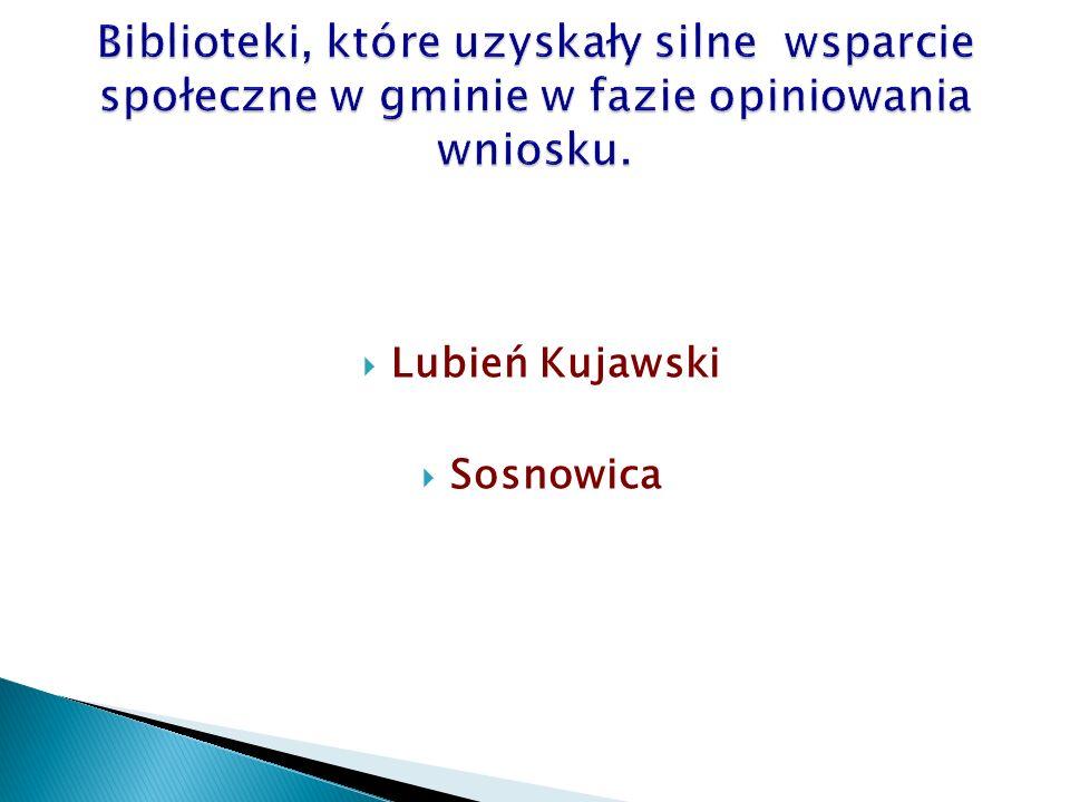  Lubień Kujawski  Sosnowica
