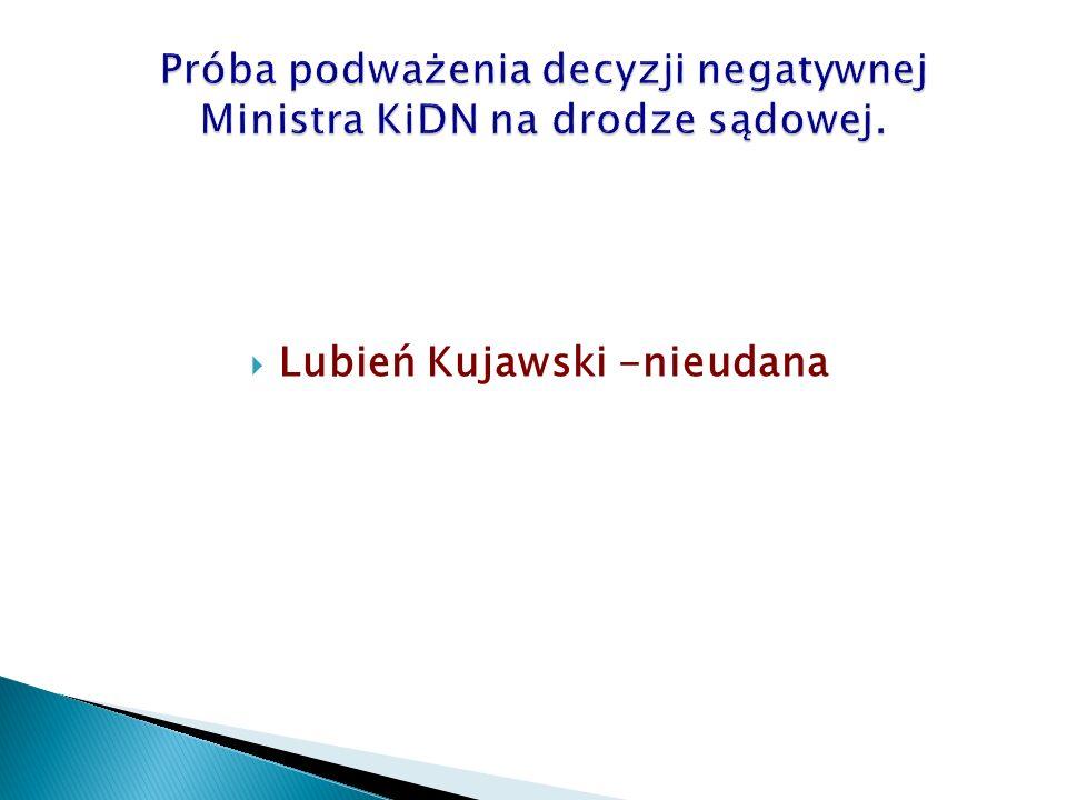  Lubień Kujawski -nieudana
