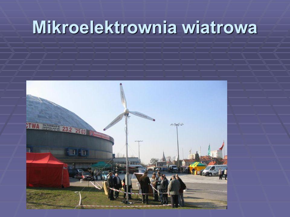 Mikroelektrownia wiatrowa