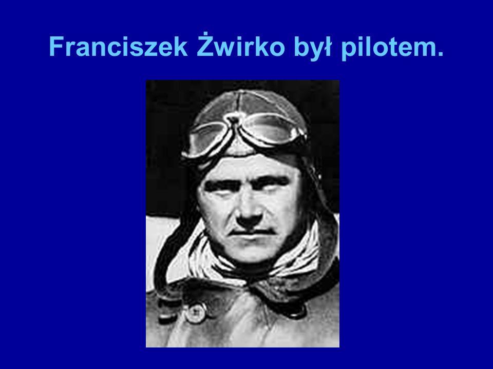 Stanisław Wigura był konstruktorem samolotów i mechanikiem.
