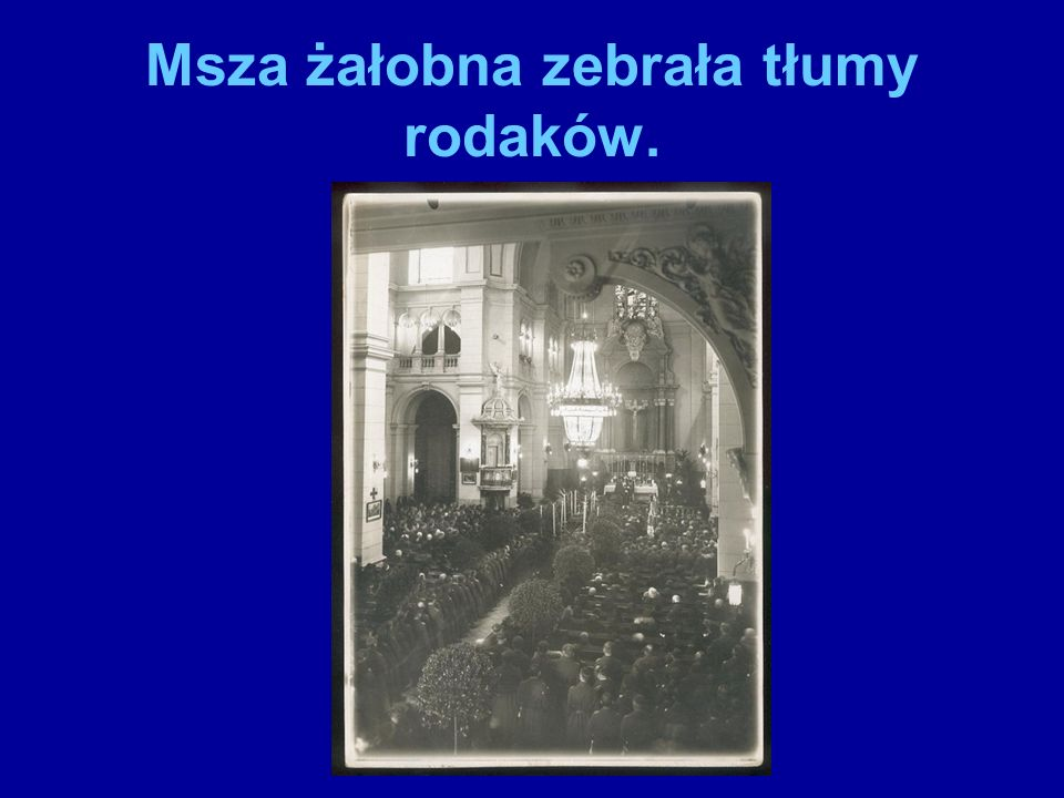 Groby obu Polaków: