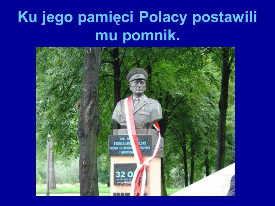 Monument Stanisława Skalskiego