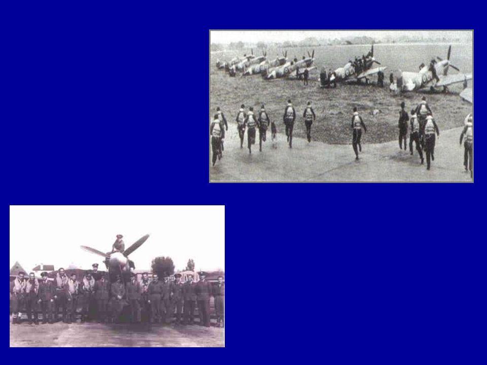 Lotnicy, którzy walczyli nad Anglią.