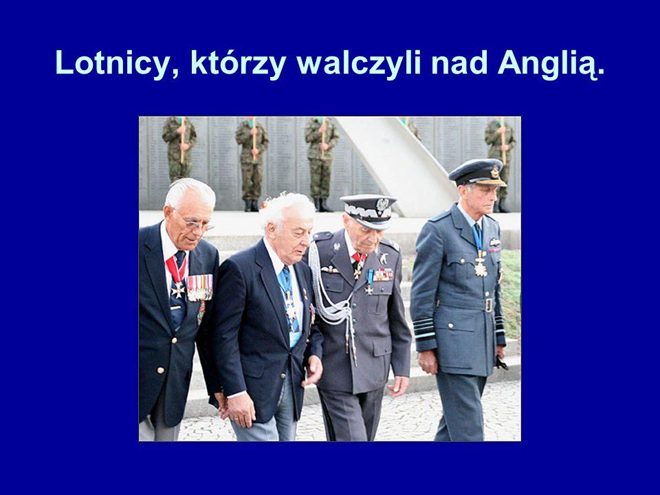 Pomnik Poległych Polskich Lotników - w pobliżu lotniska w Northolt.