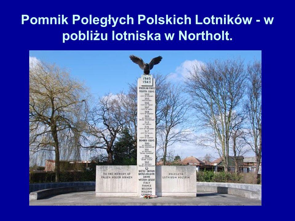 Cmentarz Poległych Polskich Lotników - w Northolt.