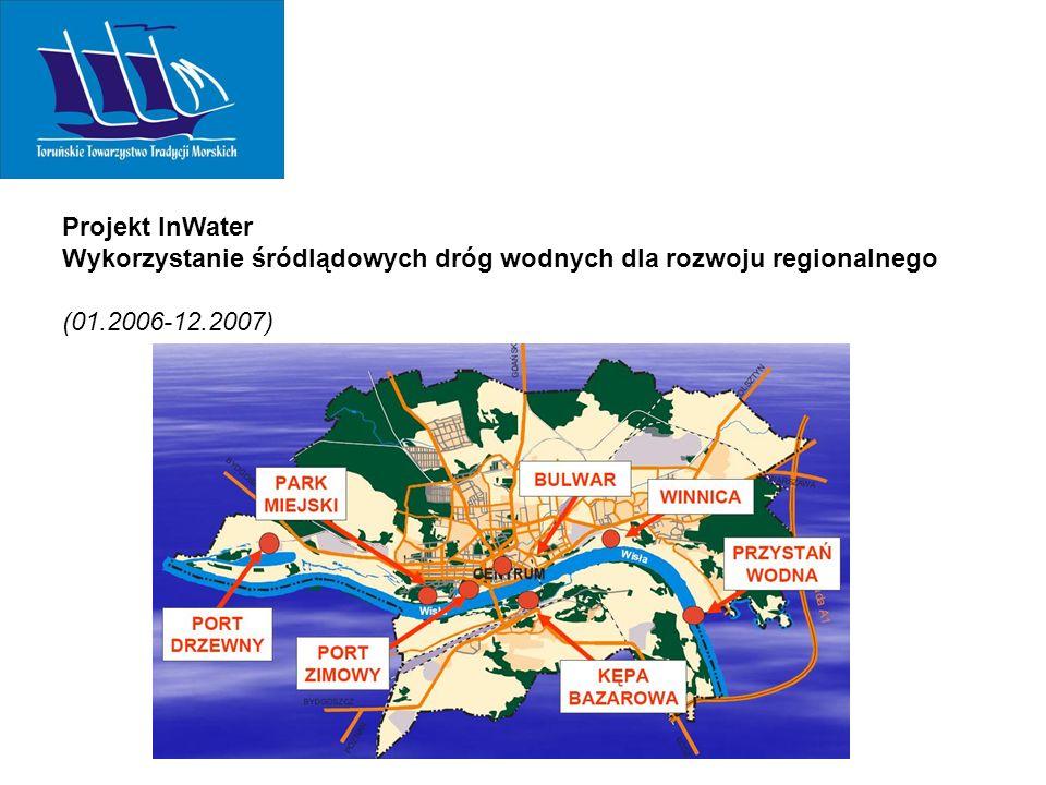 Projekt InWater Wykorzystanie śródlądowych dróg wodnych dla rozwoju regionalnego (01.2006-12.2007)