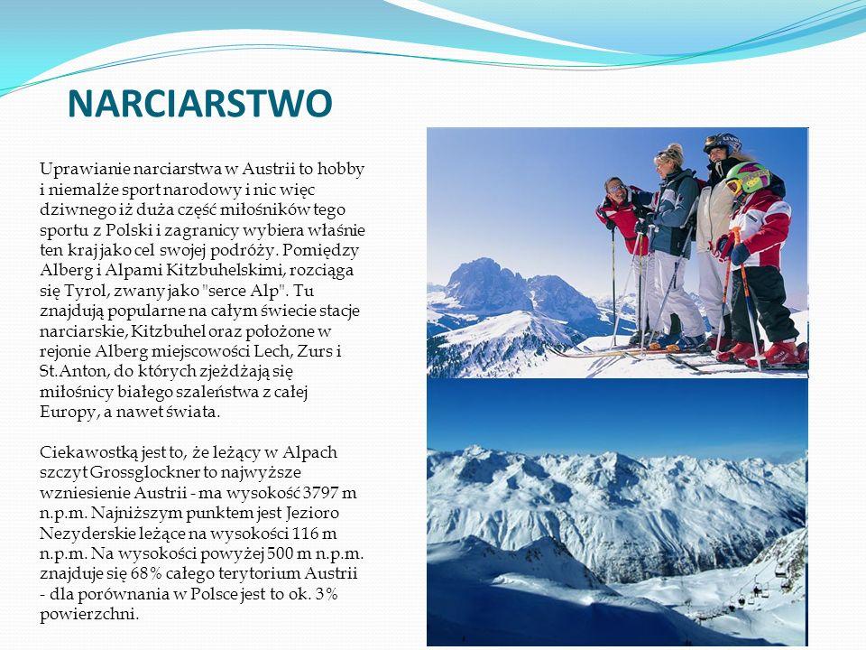 Uprawianie narciarstwa w Austrii to hobby i niemalże sport narodowy i nic więc dziwnego iż duża część miłośników tego sportu z Polski i zagranicy wybiera właśnie ten kraj jako cel swojej podróży.
