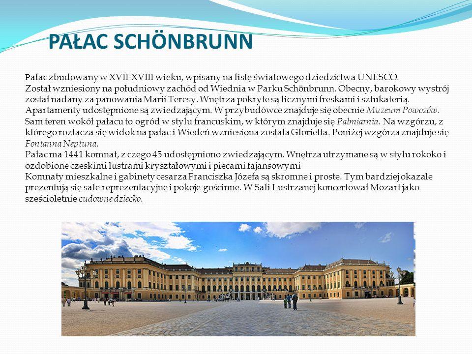 P ałac zbudowany w XVII-XVIII wieku, wpisany na listę światowego dziedzictwa UNESCO.
