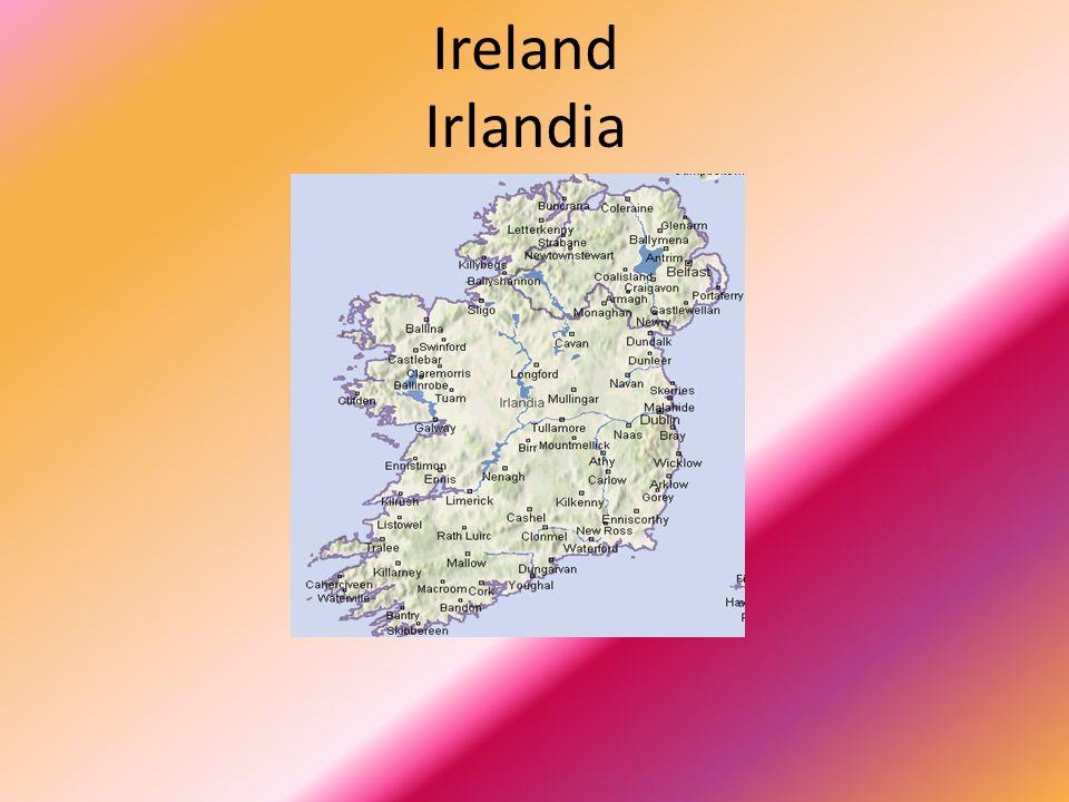 Herb Herbem Irlandii jest złota harfa o srebrnych strunach w błękitnym polu.