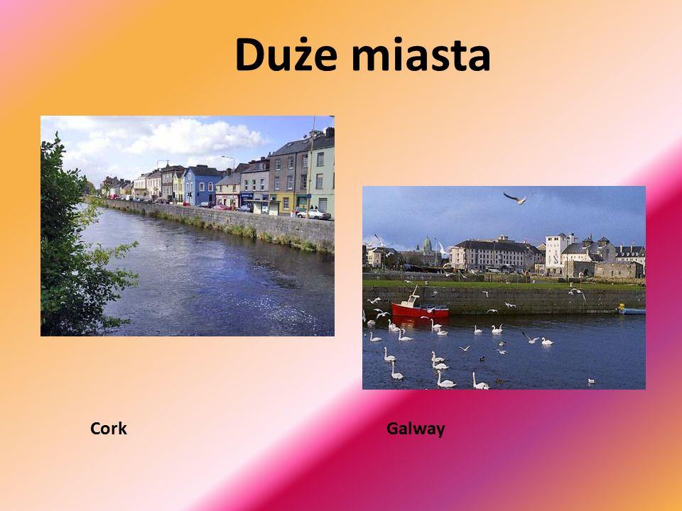 Ciekawostki Irlandia ze względu na swe walory krajobrazowe nazwana została SZMARAGDOWĄ WYSPĄ , która słynie z niepowtarzalnie pięknych widoków bardzo różnych dla poszczególnych części kraju.