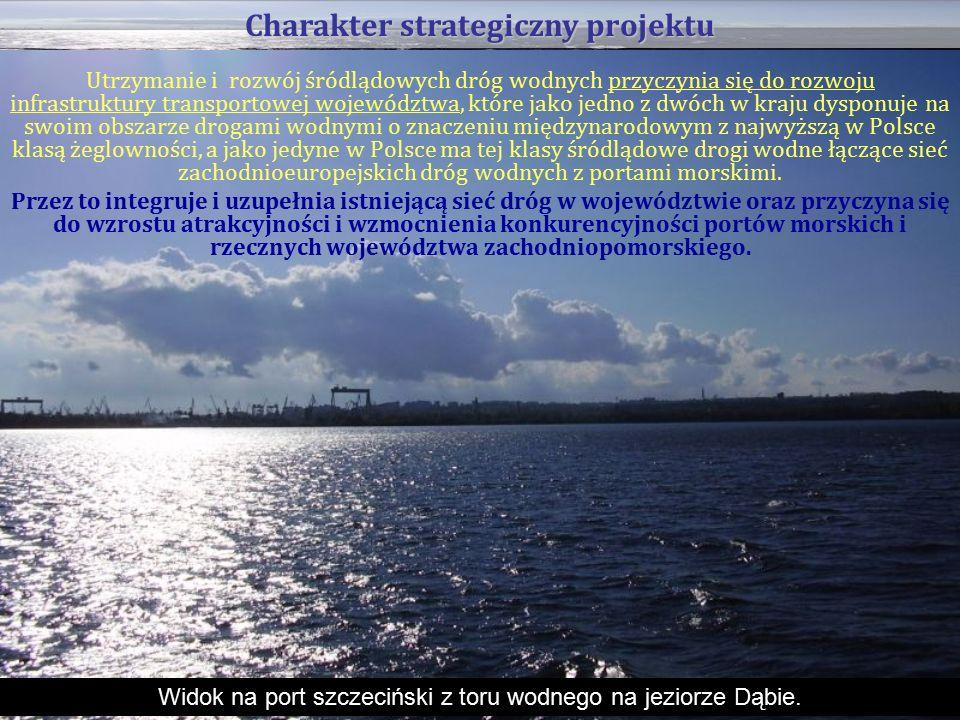 Utrzymanie i rozwój śródlądowych dróg wodnych przyczynia się do rozwoju infrastruktury transportowej województwa, które jako jedno z dwóch w kraju dysponuje na swoim obszarze drogami wodnymi o znaczeniu międzynarodowym z najwyższą w Polsce klasą żeglowności, a jako jedyne w Polsce ma tej klasy śródlądowe drogi wodne łączące sieć zachodnioeuropejskich dróg wodnych z portami morskimi.