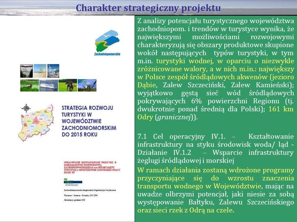 Z analizy potencjału turystycznego województwa zachodniopom.