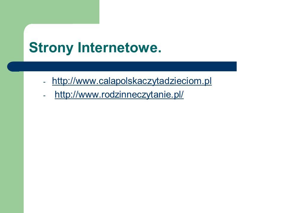 Strony Internetowe.