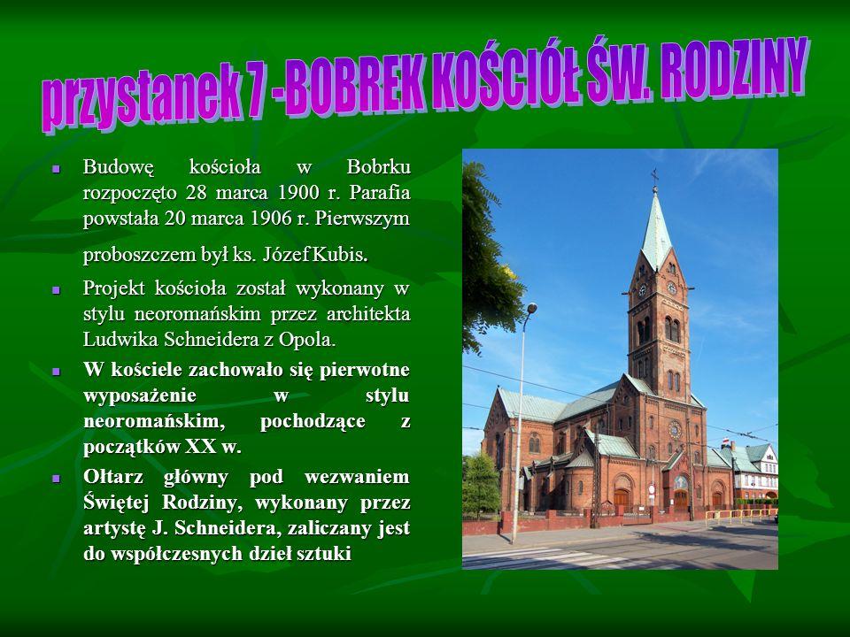 Budowę kościoła w Bobrku rozpoczęto 28 marca 1900 r.