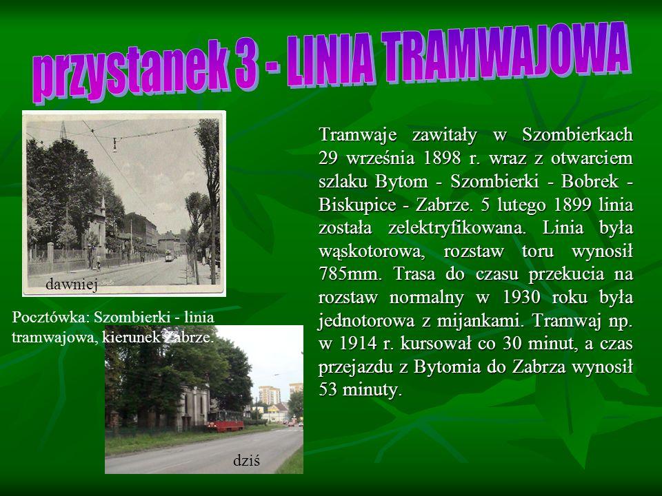 Tramwaje zawitały w Szombierkach 29 września 1898 r.