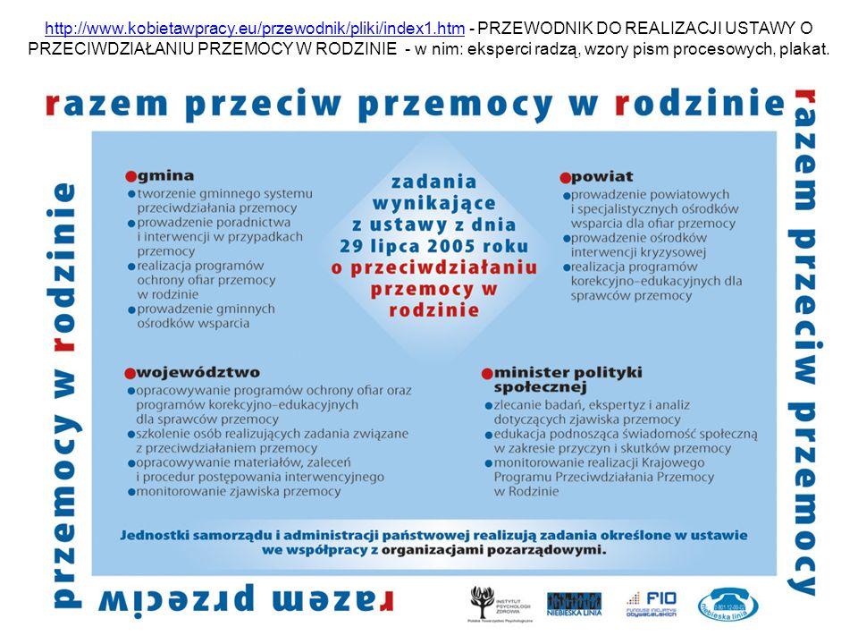 http://www.kobietawpracy.eu/przewodnik/pliki/index1.htmhttp://www.kobietawpracy.eu/przewodnik/pliki/index1.htm - PRZEWODNIK DO REALIZACJI USTAWY O PRZ