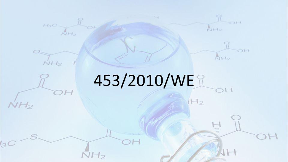 453/2010/WE