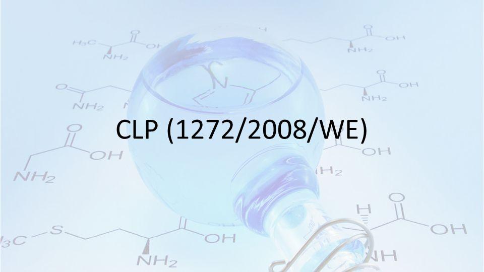 CLP (1272/2008/WE)