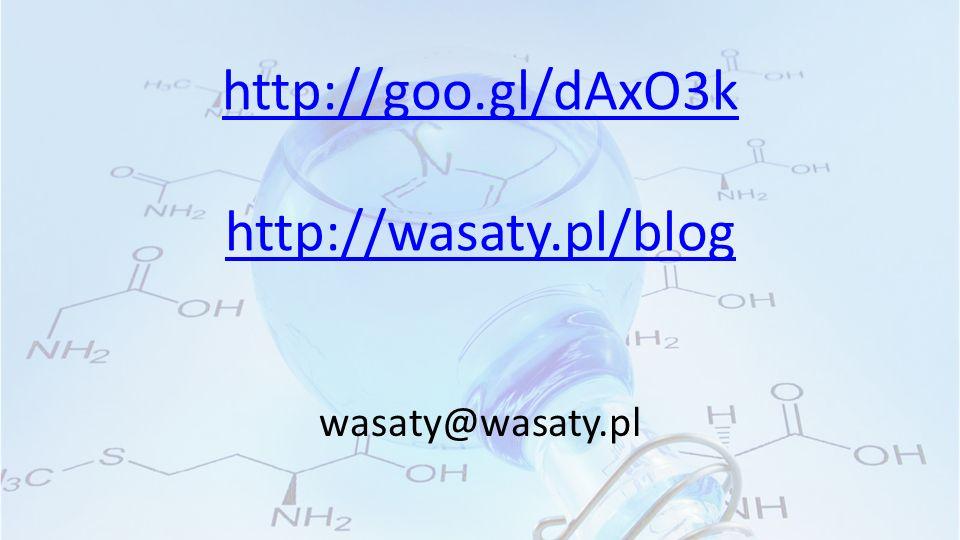 http://goo.gl/dAxO3k http://wasaty.pl/blog wasaty@wasaty.pl