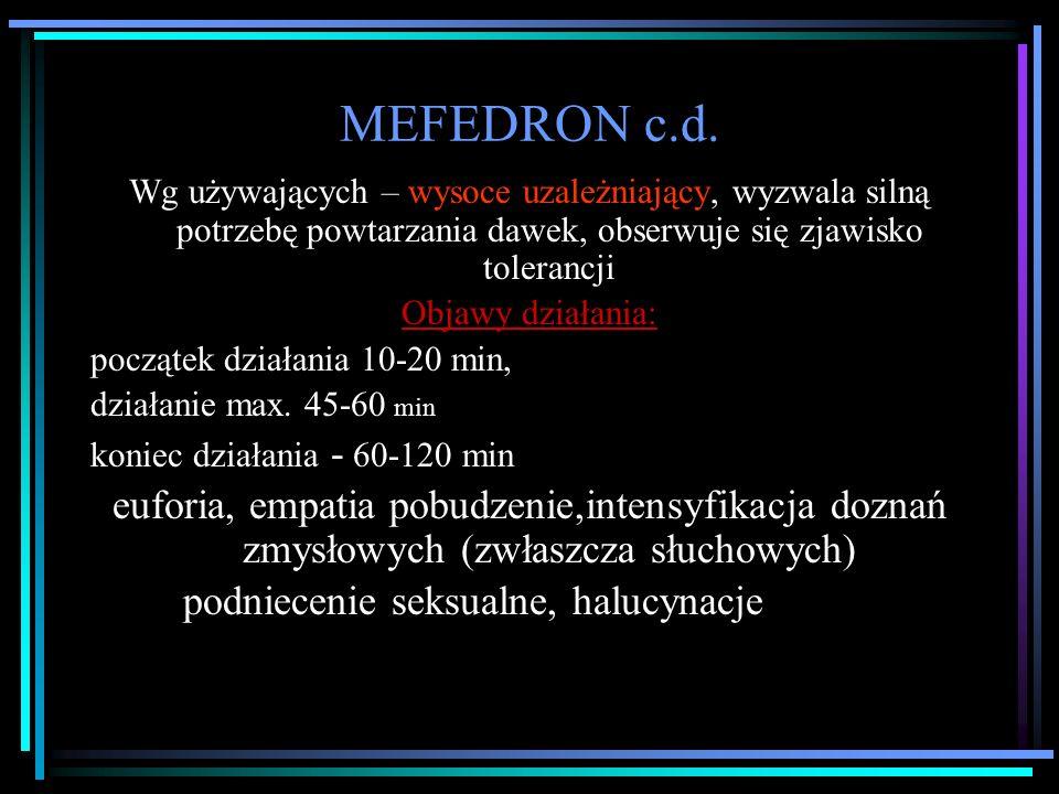 MEFEDRON c.d.