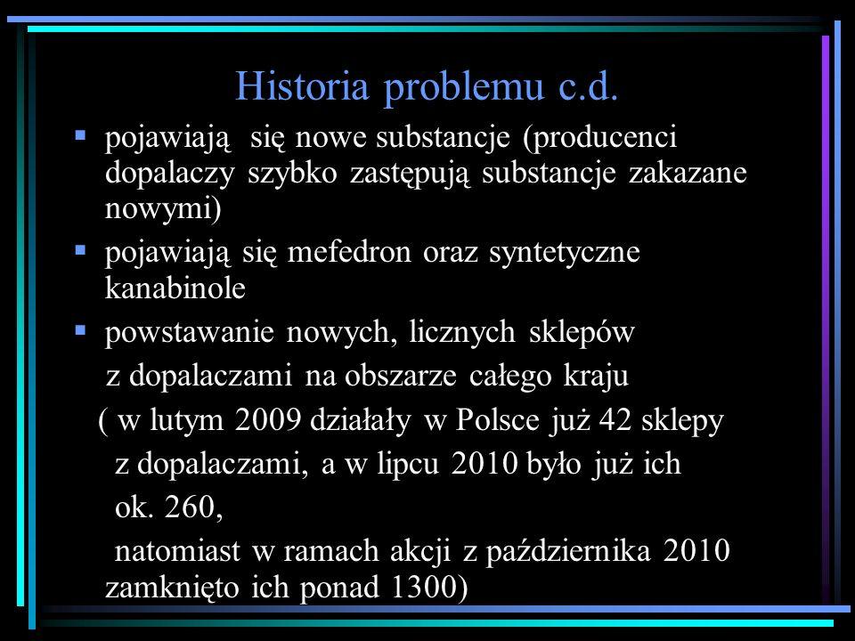 Historia problemu c.d.