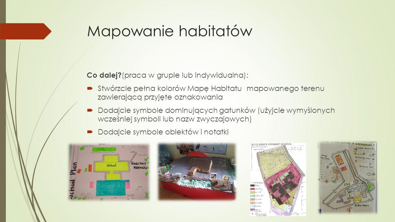 Mapowanie habitatów Co dalej.