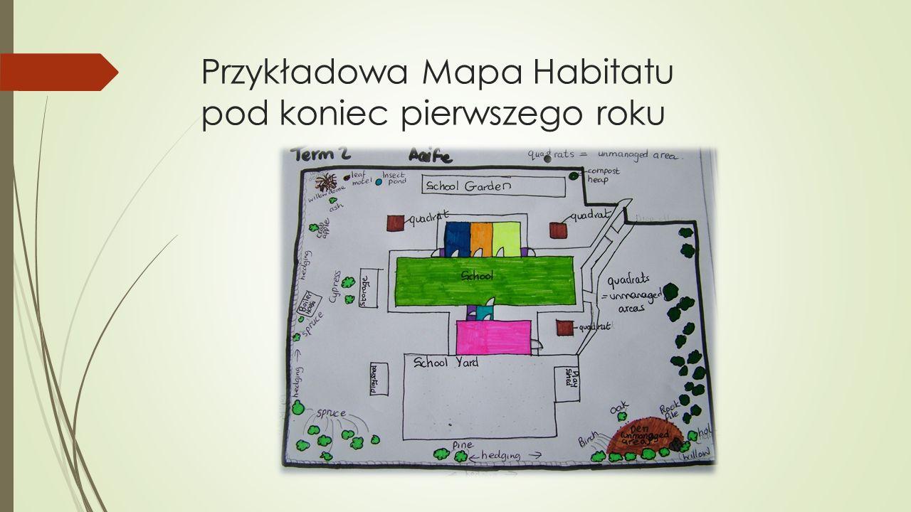 Przykładowa Mapa Habitatu pod koniec pierwszego roku