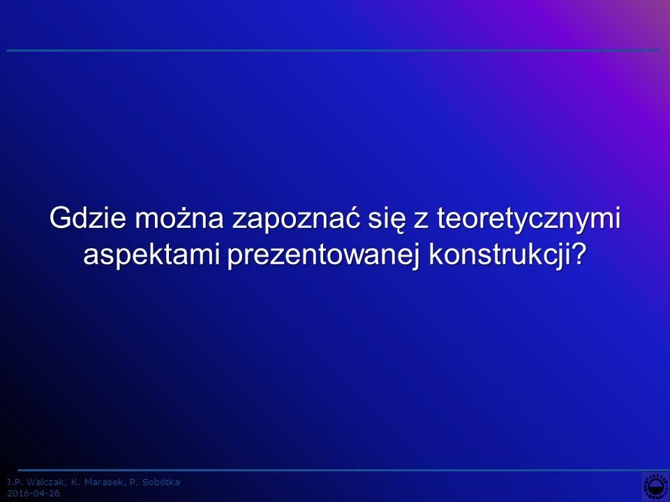 J.P.Walczak, K. Marasek, P. Sobótka 2016-04-26 Wymogi prawne USTAWA z dnia 14 lipca 1983 r.