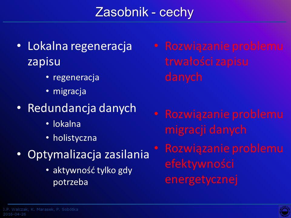 J.P. Walczak, K. Marasek, P. Sobótka 2016-04-26 od 0,3 do 3,2 PB 2 m Rozmiary zasobnika