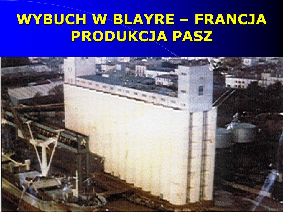 26 WYBUCH W BLAYRE – FRANCJA PRODUKCJA PASZ