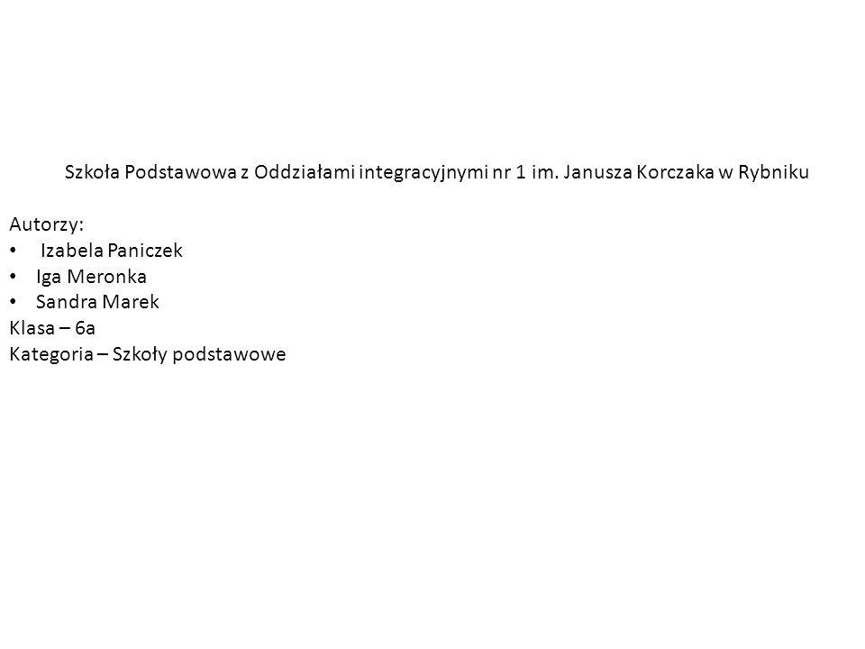 Szkoła Podstawowa z Oddziałami integracyjnymi nr 1 im.