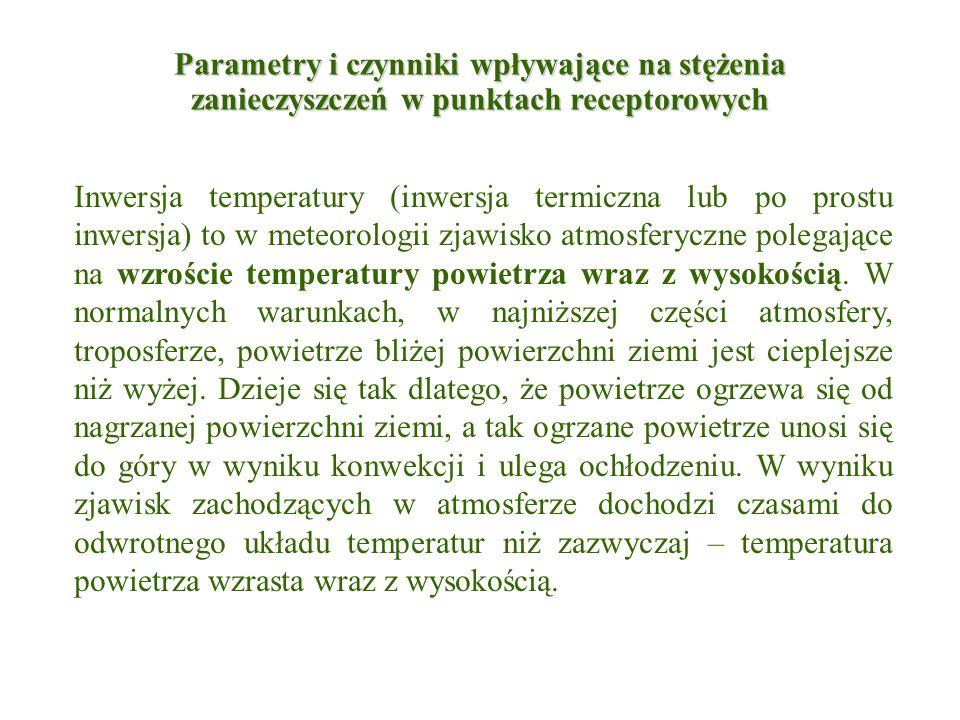 Inwersja temperatury (inwersja termiczna lub po prostu inwersja) to w meteorologii zjawisko atmosferyczne polegające na wzroście temperatury powietrza