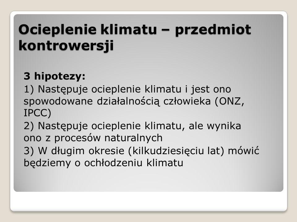 Szczyt klimatyczny w Warszawie 194 państwa Ustalenia: ◦Finansowanie działań na rzecz ograniczenia przyczyn i skutków zmian klimatu – państwa rozwinięte mają przeznaczać co roku na ten cel min.